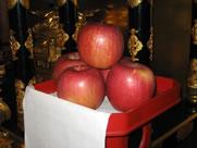 「お供え」果物