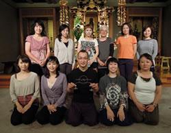 今回の寺yoga参加者の皆さんと