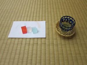煎茶と氷菓