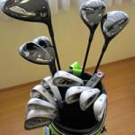 ゴルフは道具が大事だということは分かりましたが、 ちなみに住職さんは今、どんなクラブを使っているのですか?  (台東区Aさん)