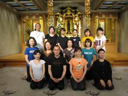 今回の寺yoga参加者の皆さん