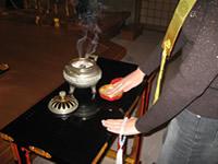 お焼香の仕方(写真2)