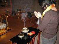 お焼香の仕方(写真3)