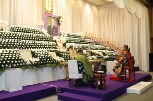 本葬儀の様子