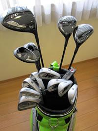 ゴルフは道具が大事